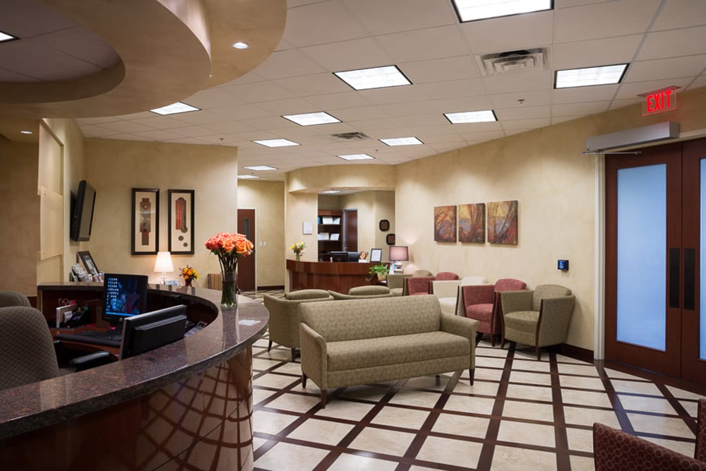 Meridian Reception / Waiting Area
